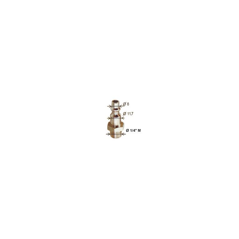 Embout pour prise rapise ISO 6150