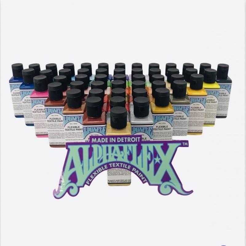 AlphaFlex, peinture spéciale textile - stds kustom