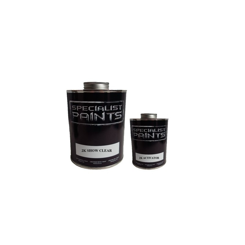 Specialist Paints Vernis 2k Clear